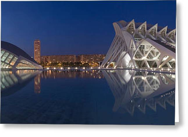 Buildings At The Waterfront, City Greeting Card by Panoramic Images