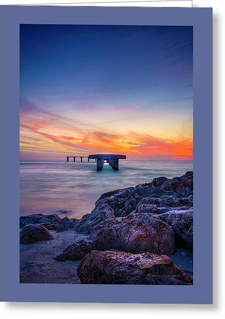 Built On The Horizon Greeting Card