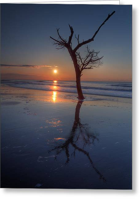 Bull Island Sunrise Greeting Card