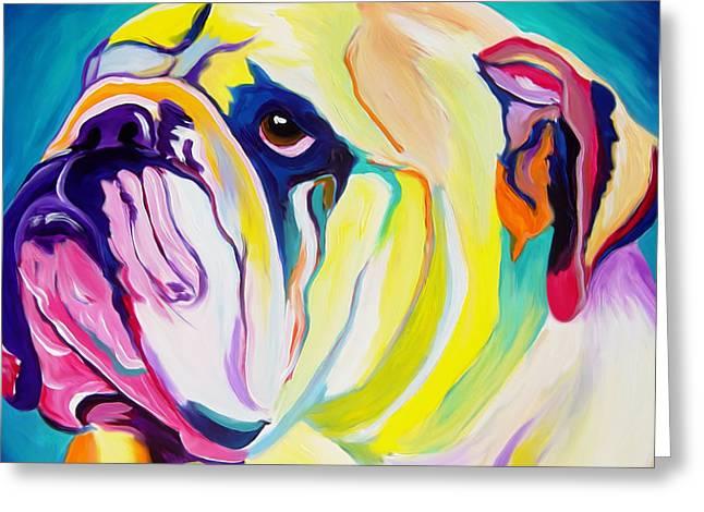 Bulldog - Bully Greeting Card