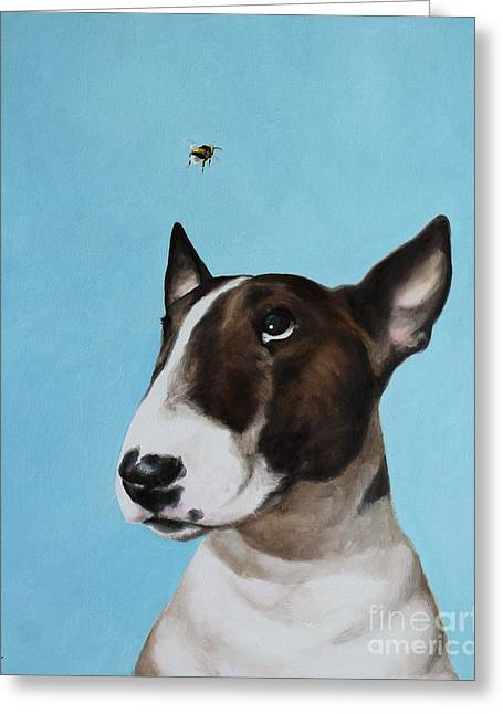 Bully And Bee Greeting Card