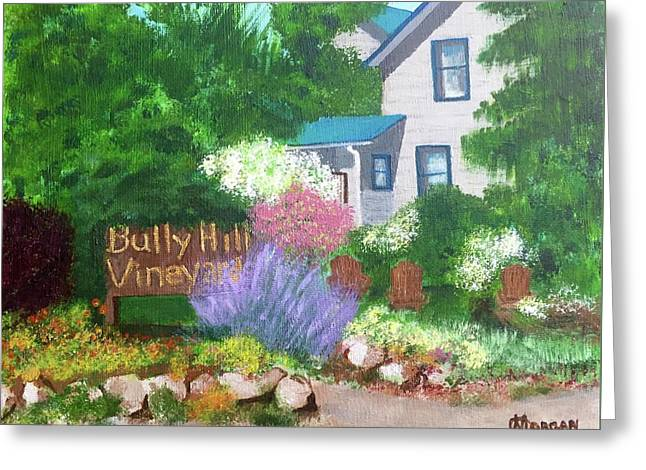 Bully Hill Vineyard Greeting Card