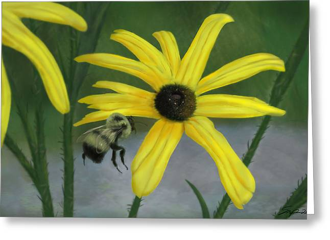 Bumble Bee Greeting Card