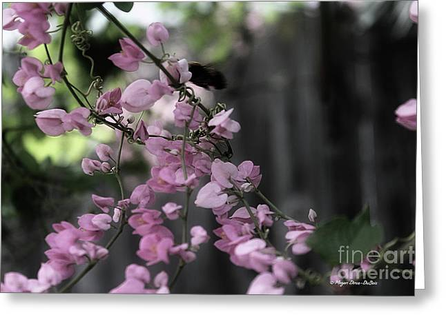 Greeting Card featuring the photograph Bumble by Megan Dirsa-DuBois