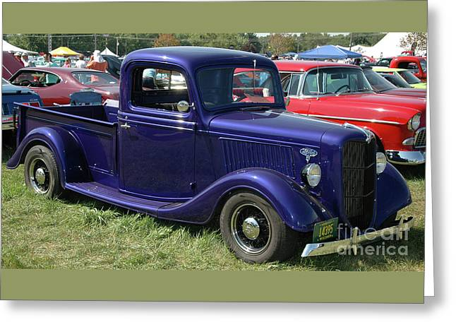 Bumper To Bumper - '36 Ford Truck Greeting Card