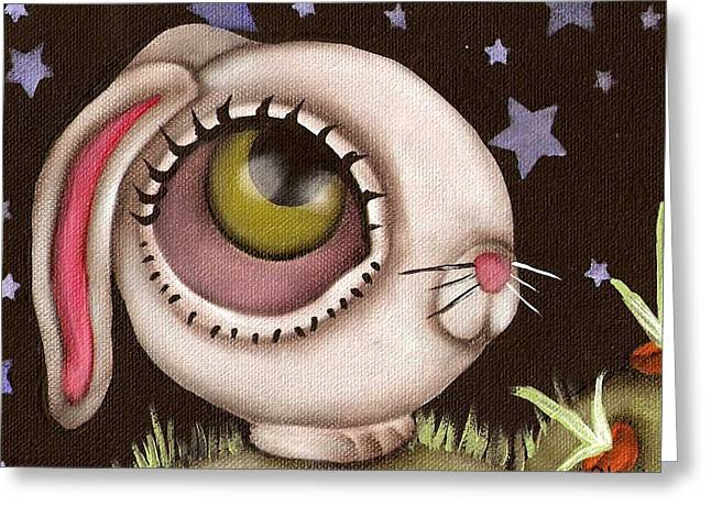 Bun Greeting Card by  Abril Andrade Griffith