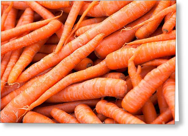Bunch Of Carrots Greeting Card