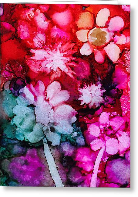 Bunch Of Flowers Greeting Card