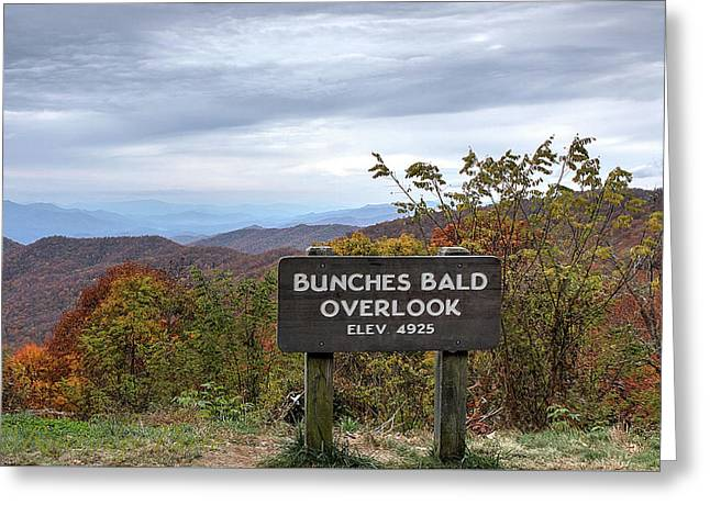 Bunches Bald Greeting Card