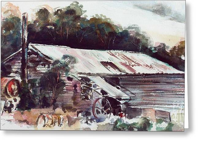 Buninyong Dairy Greeting Card