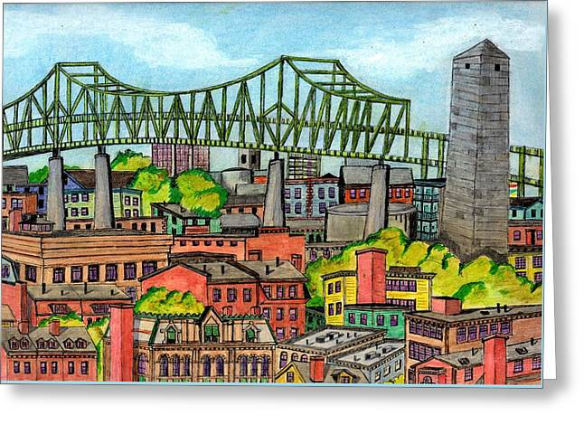 Bunkerhill And Tobin Greeting Card by Paul Meinerth