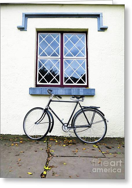 Greeting Card featuring the photograph Bunratty Bike by Rick Locke