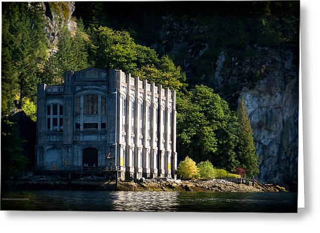 Buntzen Lake Power Station  Greeting Card