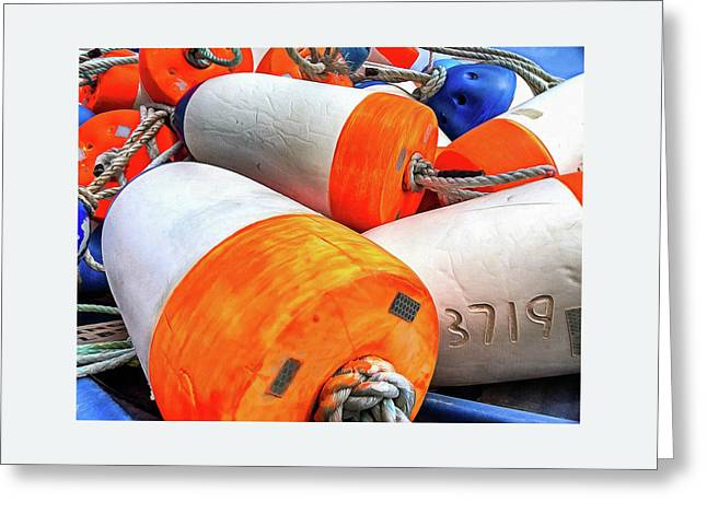 Buoy 3719 Greeting Card