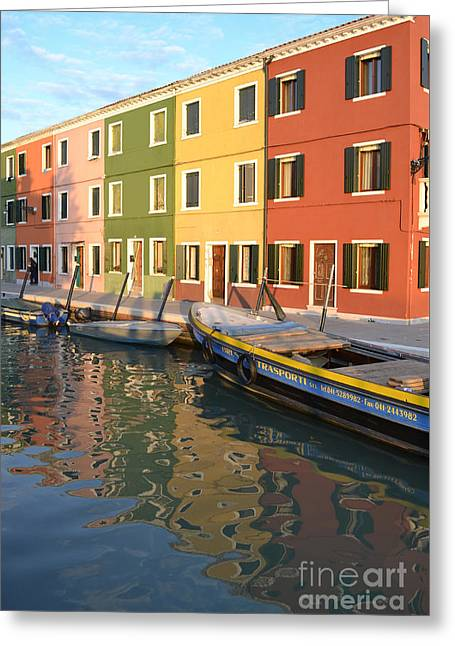Burano Italy 1 Greeting Card