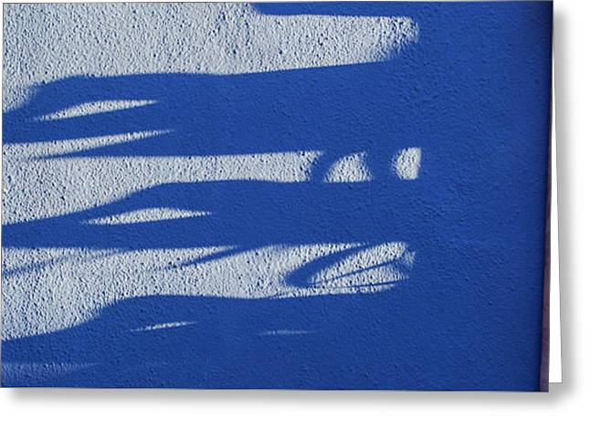 Burano Shadows Greeting Card by Art Ferrier