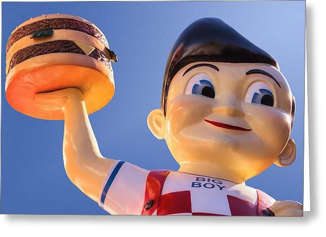 Burger Bob Greeting Card