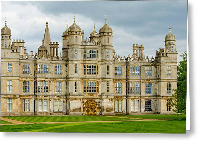 Burghley House Greeting Card