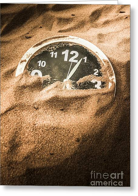 Buried In The Sands Of Time Greeting Card by Jorgo Photography - Wall Art Gallery