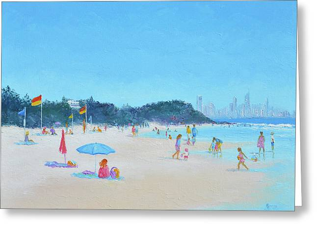 Burleigh Heads Gold Coast Australia Greeting Card