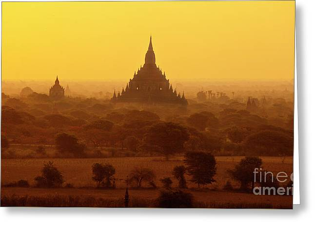 Burma_d2227 Greeting Card by Craig Lovell