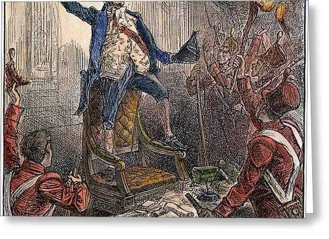 Invade Greeting Cards - Burning Of Washington Greeting Card by Granger
