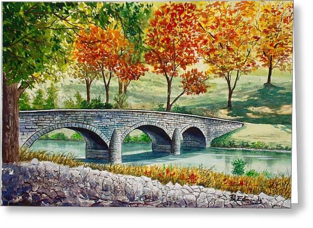 Burnside Bridge, Battle Of Antietam Greeting Card by Raymond Edmonds
