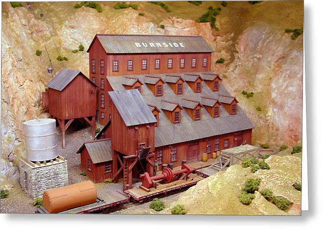 Burnside Mill Greeting Card by Pat Turner