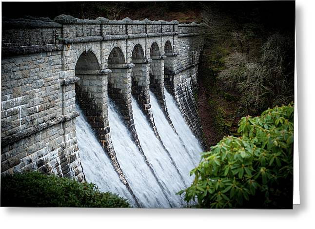 Burrator Reservoir Dam Greeting Card