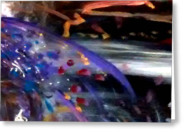 Burst Of Color Greeting Card by Michelle Audas
