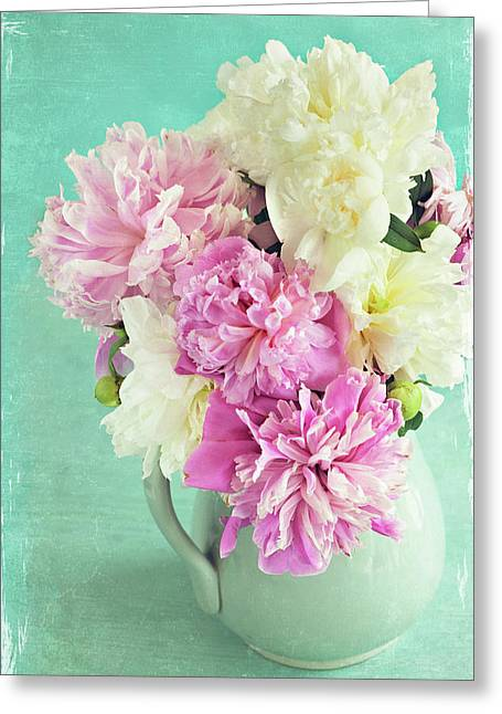 Burst Of Spring Greeting Card