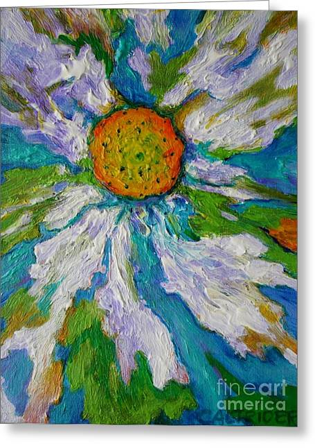 Bursting Through Greeting Card by Alison Caltrider