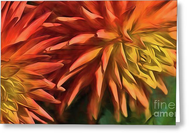 Bursting With Color Greeting Card