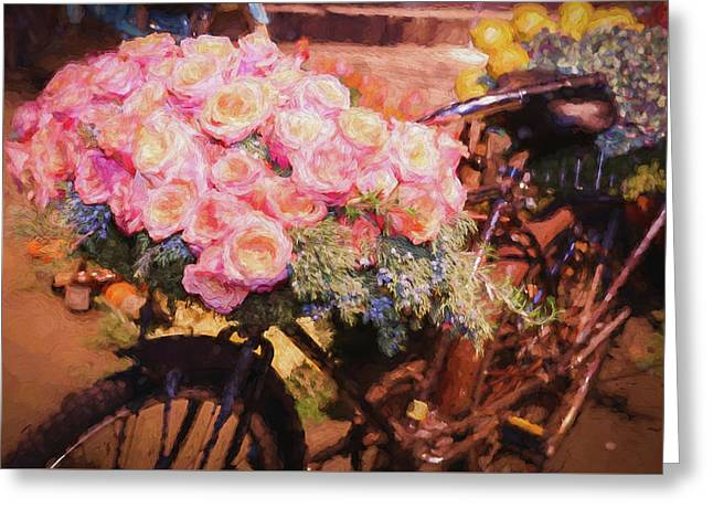 Bursting With Flowers Greeting Card by Patrice Zinck