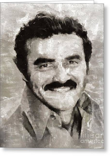 Burt Reynolds, Actor Greeting Card