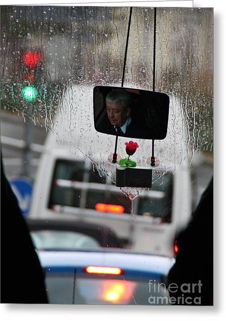 Bus Driver Greeting Card