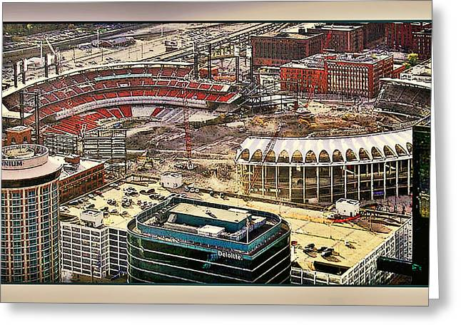 Busch Stadia Greeting Card