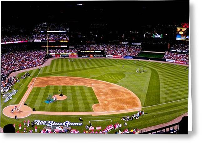 Busch Stadium Home Run Derby Greeting Card
