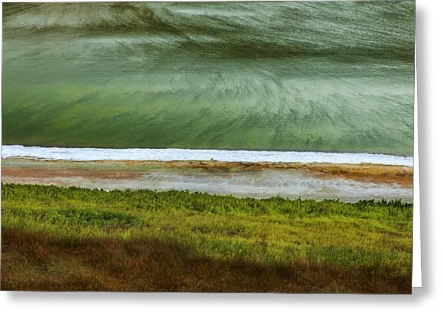 Buse Lake Abstract Greeting Card