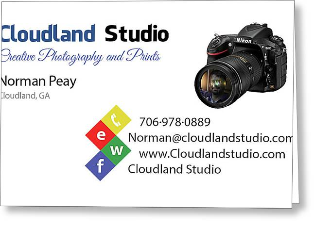 Business Card Greeting Card