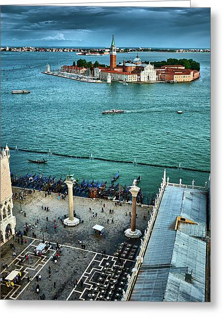 Bussy Venice Greeting Card