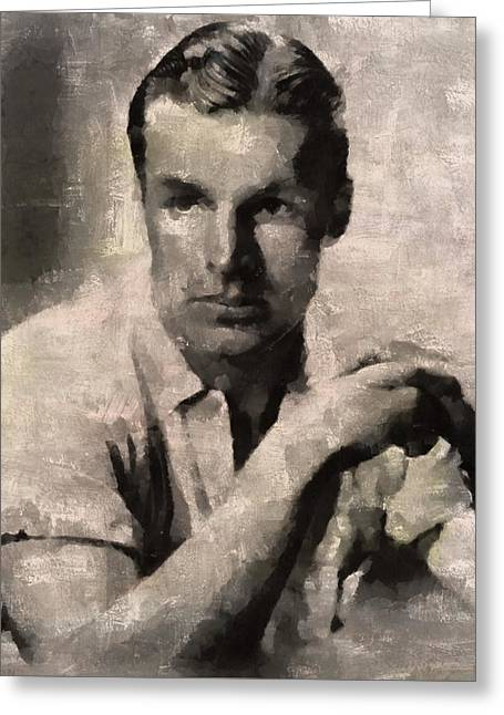Buster Crabbe, Actor Greeting Card