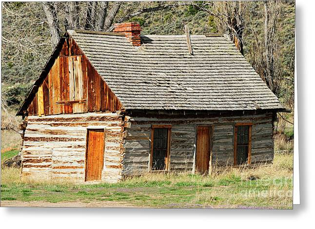 Butch Cassidy's Family Homestead Greeting Card by Dennis Hammer