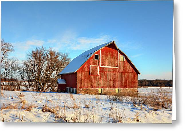Butler Barn Greeting Card by Bonfire Photography