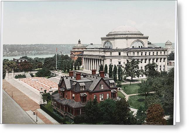 Butler Library At Columbia University Greeting Card