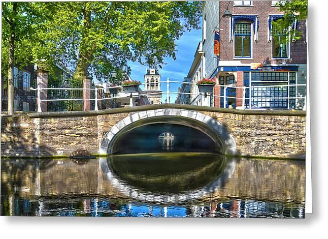 Butter Bridge Delft Greeting Card