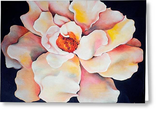 Butter Flower Greeting Card by Jordana Sands