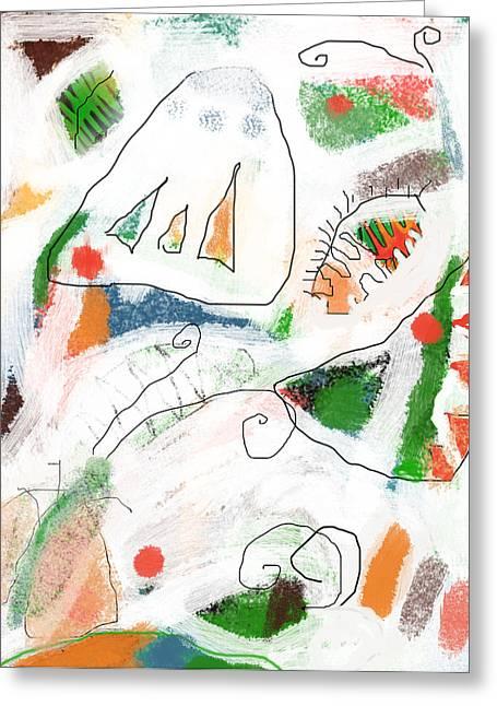 Butterflies Greeting Card by Aliza Souleyeva-Alexander