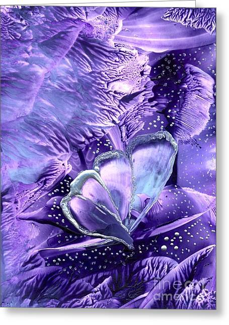 Butterflies Are Real 1 Greeting Card by Heather Hennick