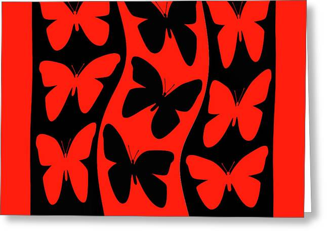 Butterflies Heading Home Greeting Card